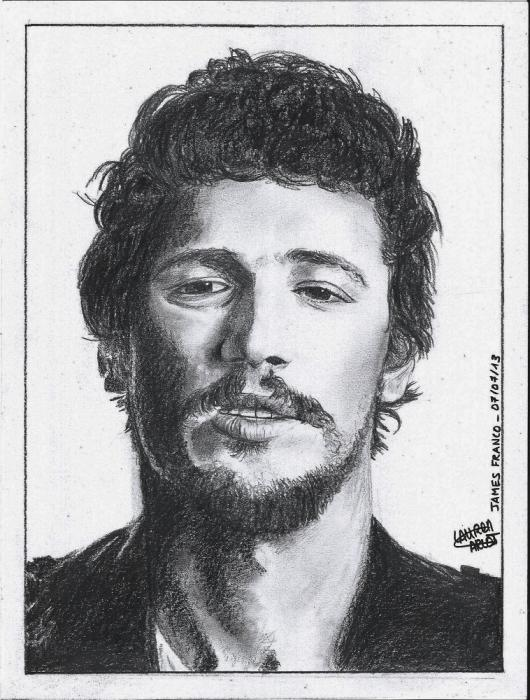 James Franco by LADRAWING